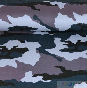 WINTERSWEAT CAMOUFLAGE LILA-BLAU 0.5M