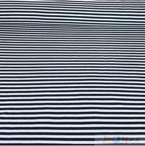 JERSEY BLAU-WEISS STREIFEN 0.5M