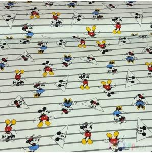 JERSEY MICKEY MAUS AUF WEISS 0.5M