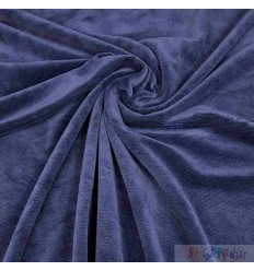 CORD JERSEY BLUE 0.5M