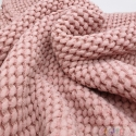 BUBBLE LINEN ROSE 0,5M