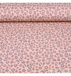 FRENCH TERRY LEOPARD ROSA 0.5M