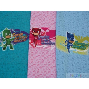 JERSEY PJ Masks Panel ( SET 3ST)