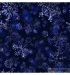 WINTER LACE DEEP BLUE 0.5M