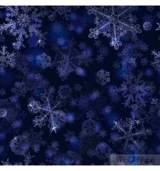 VORBESTELLUNG WINTER LACE DEEP BLUE 0.5M