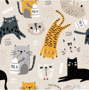 VORBESTELLUNG PETS CATS BEIGE 0.5M