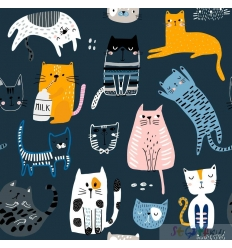 SOMMERSWEAT PETS CATS BLUE 0.5M