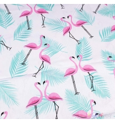 BAUMWOLLE FLAMINGO TROPIC 0.5M