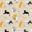 BAUMWOLLE CATS  0.5M