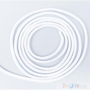 GUMMIKORDEL 2.2mm (50m)  weiß