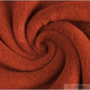 BAUMWOLLFLEECE caramel 0.5M