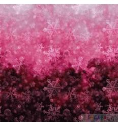 WINTER LACE OMBRE deep rose 0.5M
