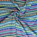 Mexiko Streifen kobolt 0.5M