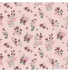 JERSEY little flowers  rose 0.5M