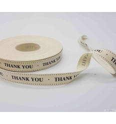 BAND 15MM THANK YOU 1M